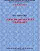 Giáo trình Lập kế hoạch sản xuất ngành May - ĐH Sư Phạm Kỹ Thuật TPHCM
