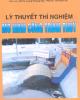 Ebook Lý thuyết thí nghiệm mô hình công trình thủy - GS.TS. Lương Phương Hậu, PGS.TS. Trần Đình Hợi