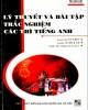 Ebook Lý thuyết và bài tập trắc nghiệm các thì Tiếng Anh: Phần 1