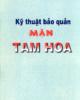 Ebook Kỹ thuật bảo quản mận Tam Hoa: Phần 1 - TS. Trần Thị Mai