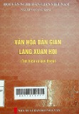 Văn hóa dan gian làng Xuân Hội