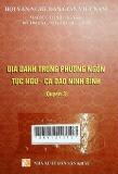 Địa danh trong phương ngôn tục ngữ- ca dao Ninh Bình( quyển 3)