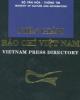 Ebook Niên giám báo chí Việt Nam: Phần 1