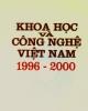 Ebook Khoa học và công nghệ Việt Nam 1996 - 2000