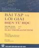 Ebook Bài tập và lời giải Điện từ học: Phần 1 - Yung - Kuo Lim (chủ biên)