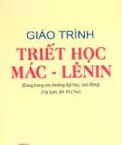 Giáo trình Triết học Mác - Lênin - Bộ GD&ĐT