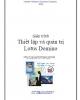 Giáo trình về Thiết lập và quản trị Lotus Domino