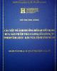 Các yếu tố ảnh  hưởng đến quyết định mua sản phẩm trà ô long của công ty TNHH Tâm Châu - Khu vực tỉnh Lâm Đồng
