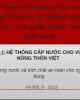Bài giảng Hệ thống cấp nước công cộng - Phần 1: Hệ thống cấp nước cho vùng nông thôn Việt
