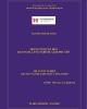 Đồ án Tốt nghiệp: Trung tâm văn hóa - Quảng bá làng nghề du lịch Phú Yên