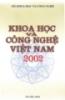 Ebook Khoa học và công nghệ Việt Nam 2002 - Bộ Khoa học và Công nghệ