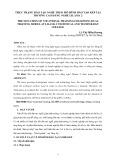 Thực trạng đào tạo nghề theo mô hình đào tạo kép tại trường Cao đẳng nghề Lilama 2