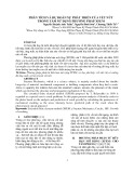 Phân tích và dự đoán sự phát triển của vết nứt trong tấm sử dụng phương pháp XFEM