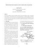 Phương pháp tính toán hệ số an toàn và khối lượng cát khai thác
