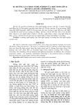 Xu hướng chọn nghề nghiệp của học sinh lớp 12 tại huyện Cẩm Mỹ tỉnh Đồng Nai