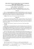 Phân tích ứng xử của hệ tương tác tấm COMPOSITE trong môi trường nhiệt