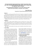 Sử dụng phương pháp Bootstap trong việc phân tích các yếu tố ảnh hưởng đến kết quả học tập của sinh viên sư phạm kĩ thuật thành phồ Hồ Chí Minh