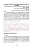 Nghiên cứu sử dụng cọc CFA Trong điều kiện địa chất thành phố Hồ Chí Minh