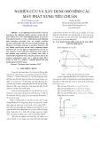 Nghiên cứu và xây dựng mô hình máy phát xung tiêu chuẩn