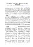 Phân tích kết cấu tấm bằng phần tử biến dạng trơn NS – MITC3
