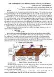 Điều khiển hệ gia công trên mặt phẳng bằng cơ cấu dây băng