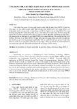 Ứng dụng MPLS-TE trên mạng  MAN-E viễn thông Hậu Giang