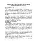 CÁC CẢM BIẾN SỬ DỤNG TRÊN ĐỘNG CƠ XĂNG & DIESEL