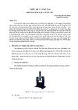 THIẾT KẾ VÀ CHẾTẠO KHUNG MÁY DẬP CNC 40 TẤN