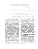 PHÂN TÍCH ẢNH HƯỞNG CỦA MA SÁT ÂM ĐẾN KHẢ NĂNG CHỊU LỰC CỦA CỌC ĐƠN VÀ NHÓM CỌC