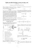 Nghiên cứu thiết kếhệ thống Tracking cho động cơ DC