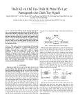 Thiết Kế và Chế Tạo Thiết Bị Phản Hồi Lực Pantograph cho Cánh Tay Người