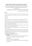 TÁI HIỆN TRANG PHỤC PHƯƠNG TÂY THẬP NIÊN 20 CỦA THẾ KỶ XX, ỨNG DỤNG TRONG GIẢNG DẠY NHÓM MÔN THIẾT KẾ THỜI TRANG