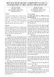BIÊN SOẠN BỘ ĐỀ THI TRẮC NGHIỆM MÔN VẬT LIỆU VÀ LINH KIỆN ĐIỆN TỬ THEO CHƢƠNG TRÌNH 150 TÍN CHỈ