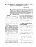 PHÂN TÍCH ẢNH HƯỞNG CỦA MÔ HÌNH NỀN ĐẾN DỰ BÁO CHUYỂN VỊVÀ BIẾN DẠNG HỐ ĐÀO SÂU ỔN ĐỊNH BẰNG TƯỜNG CHẮN