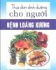 Ebook Thực đơn dinh dưỡng cho người bệnh loãng xương
