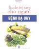 Ebook Thực đơn dinh dưỡng cho người bệnh dạ dày