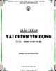 Giáo trình Tài chính tín dụng: Phần 1 -  ThS. Huỳnh Kim Thảo