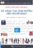 Ebook Cẩm nang Quản lý hiệu quả: Kỹ năng tạo ảnh hưởng đến người khác