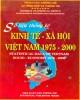 Ebook Số liệu thống kê kinh tế - Xã hội Việt Nam 1975-2000: Phần 2