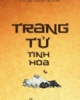 Ebook Trang Tử tinh hoa - Nguyễn Duy Cần