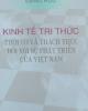 Ebook Kinh tế tri thức: Thời cơ và thách thức đối với sự phát triển của Việt Nam - Đặng Hữu