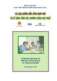 Tài liệu hướng dẫn lồng ghép giới và kỹ năng sống vào chương trình dạy nghề