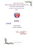 Chuyên đề: Phân tích nghề - Lý thuyết và ứng dụng