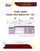 Giáo trình Thực hành phân tích mạch AC - DC