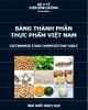 Ebook Bảng thành phần thực phẩm ở Việt Nam: Phần 2 - NXB Y học