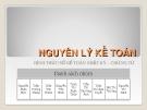 Bài thuyết trình: Hình thức sổ kế toán nhật ký - Chứng từ