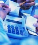 Bài giảng Một số chỉ tiêu tài chính cơ bản trong lập, phân tích vá đánh giá dự án - PGS.TS. Võ Thành Hưng