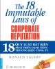 Ebook 18 quy luật bất biến phát triển danh tiếng thương hiệu công ty