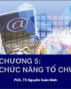 Bài giảng Quản trị học: Chương 5 - PGS.TS. Nguyễn Xuân Minh
