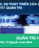 Bài giảng Quản trị học: Chương 2 - PGS.TS. Nguyễn Xuân Minh